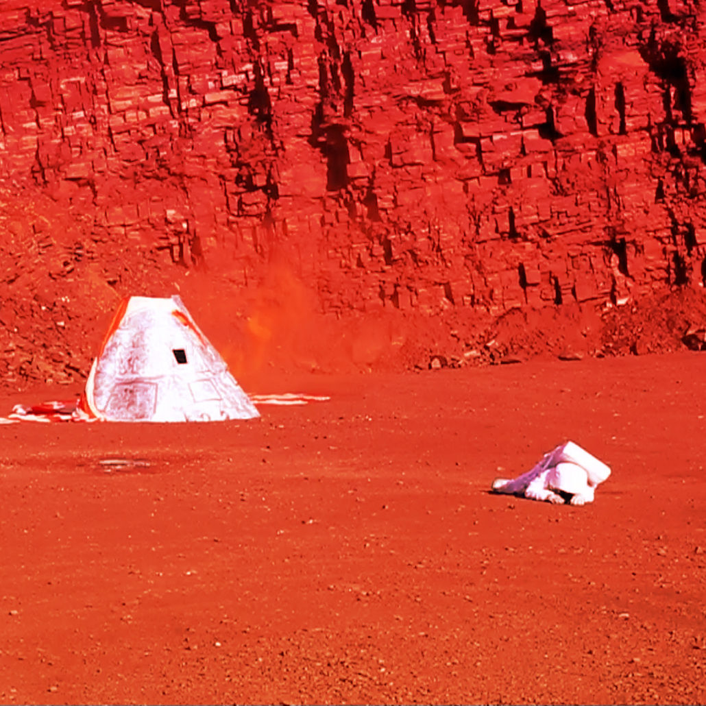 Mission to Mars by George Andrew Pasles