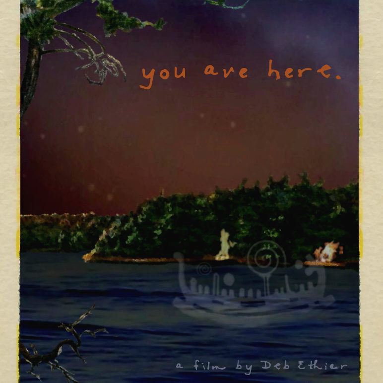 You Are Here by Deb Ethier
